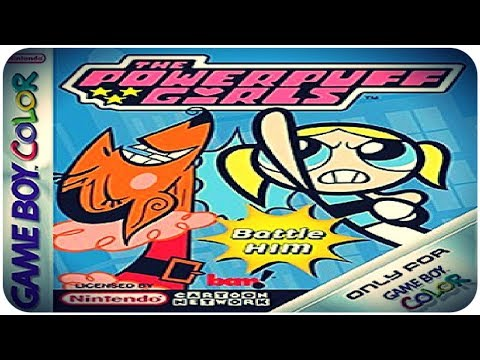 HooliNerd zockt: THE POWERPUFF GIRLS - BATTLE HIM! (Game Boy Color)