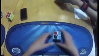 SLOW MOTION! 2x2 Rubiks Cube 0:58 Single World Record Rami Sbah