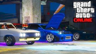 RASSEMBLEMENT de voitures Japonaise sur GTA 5 Online