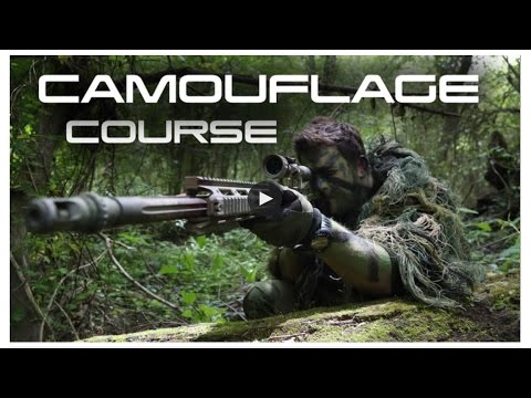 Airsoft Weapons Painting And Camouflage Course - Swamp Sniper