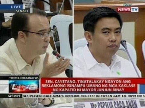 Pagdinig ng Senado kaugnay ng umano'y overpriced Makati City Hall carpark (Part 3)