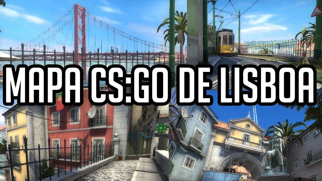 novo mapa lisboa NOVO MAPA CS:GO DA CIDADE LISBOA!!!!   YouTube novo mapa lisboa