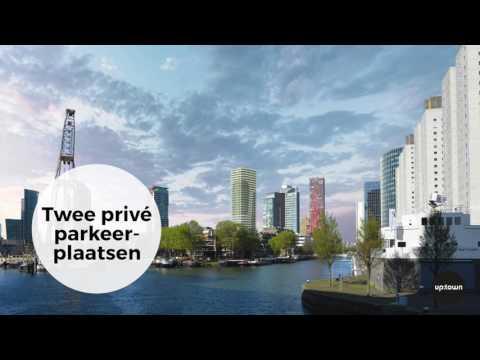 Penthouse in up:town op een toplocatie in het hart van Rotterdam