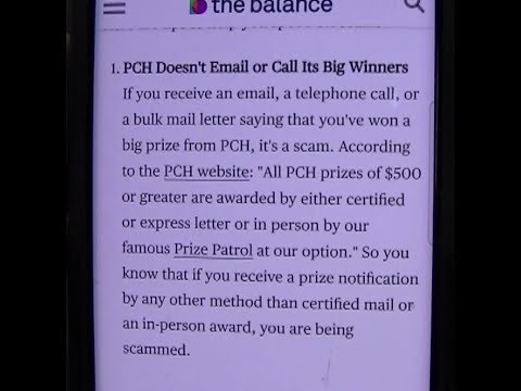 I WON! 2 5 Million! Publishers clearing house scammer gets MAD