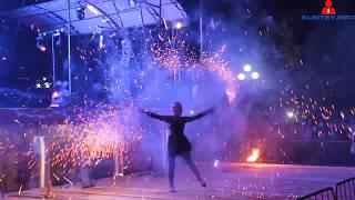 День города Клинцы - «Фаер шоу»