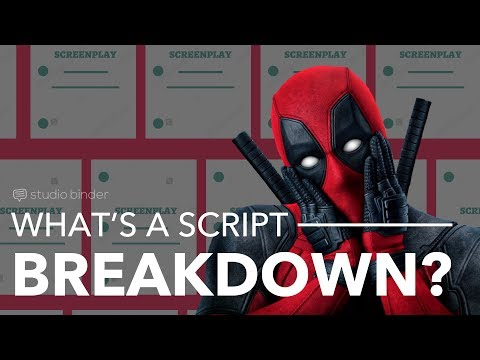 Film Budget Planning How To Budget A Script Breakdown