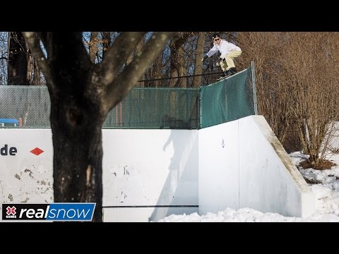 Jesse Paul wins bronze in Real Snow 2017   X Games
