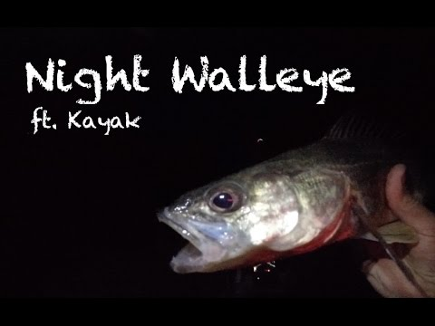 Night Fishing For Walleye - Chatfield
