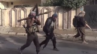 Mosul combat footage: ISIS clashing with Iraqi government troops