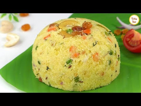 Upma Recipe   Rava Upma, Sooji Upma Recipe By Tiffin Box   Veg Upma, Easy & Healthy Breakfast Recipe