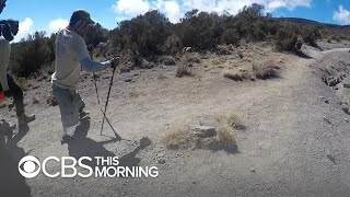 Wounded veteran takes journey of hope and determination up Mt. Kilimanjaro