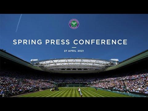 Wimbledon Spring Press Conference 2021