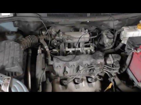 Ремонт автомобиля Chevrolet Aveo Шевроле Авео Почему троит двигатель