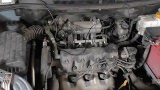 Ремонт автомобіля Chevrolet Aveo (Шевроле Авео) Чому троїть двигун?