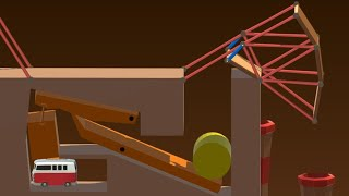 Building a RUBE GOLDBERG Machine in Poly Bridge 2