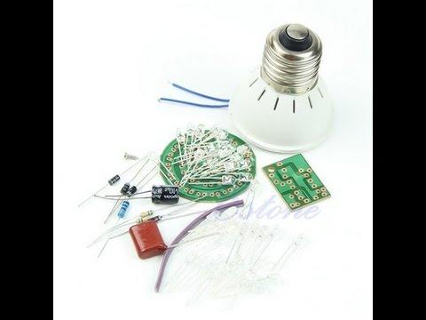 Лампочка 3W КИТ набор из Алиэкспресс