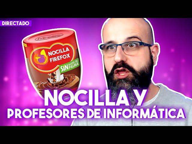 🔴 NOCILLA PARA LOS MALOS ROLLOS Y Y PROFESORES DE INFORMÁTICA - #DIRECTADO | La red de Mario