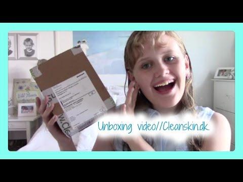 Unboxing video// Cleanskin.dk