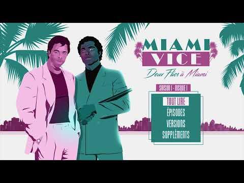 Miami Vice - Deux flics à Miami (menu blu-ray)