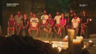 Survivor 2019   Οι υποψήφιοι παίκτες για αποχώρηση   24/02/2019