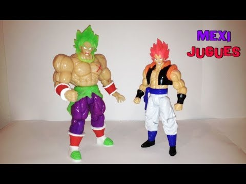 Broly Full Power Y Gogeta Super Saiyajin Rose - Figuras Bootleg Mexico 2019