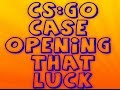 CS:GO case opening #Luck