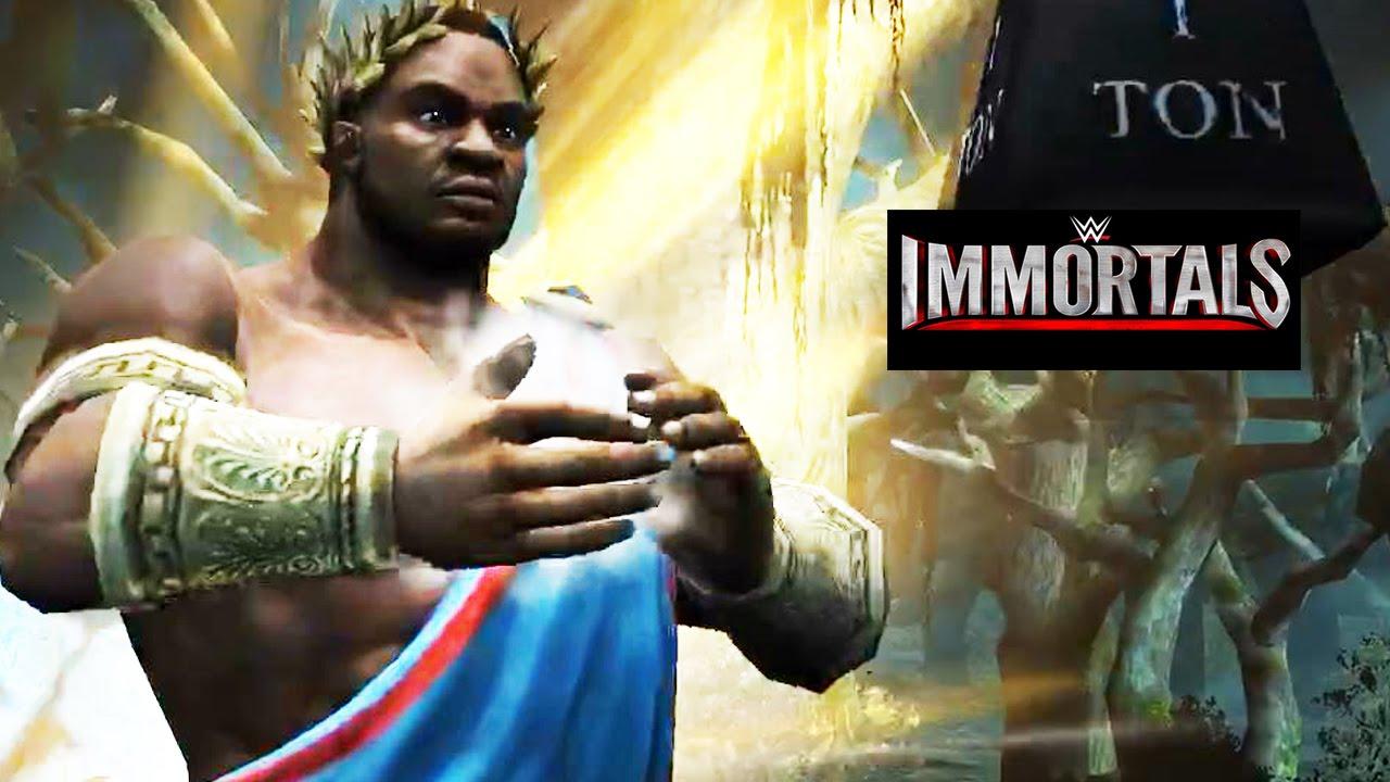 WWE Immortals - Pantheon - Big E Super Move Attacks [Android/iPad]