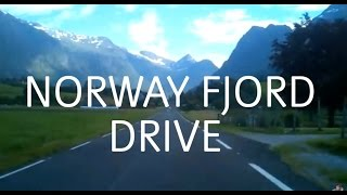 What it is Like to Drive Through Norway Fjord Country