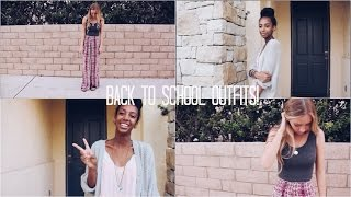 Two Back to School Outfits Feat. TheFashionDiyaries | ZaraForever Thumbnail