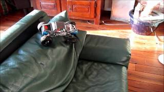 losi mini rock crawler indoor/couch crawl