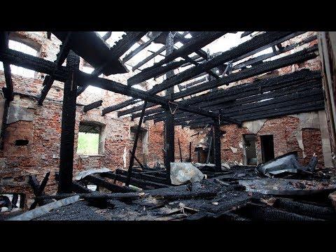 Spłonął zabytkowy młyn w Szynkielewie