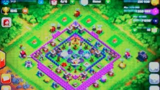 clash of clans town hall level 9 base design (without x-bow) #2
