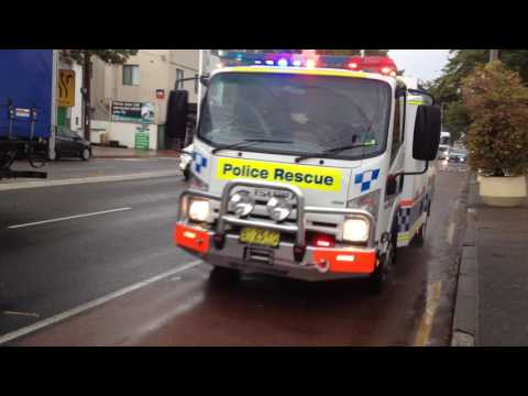 NSWPF - Rescue 30 responding