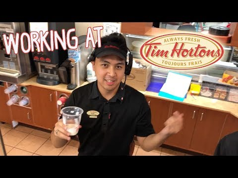 A day in the life of a Tim Hortons employee