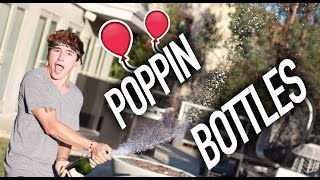 Poppin Bottles in Slow-Mo For O2L