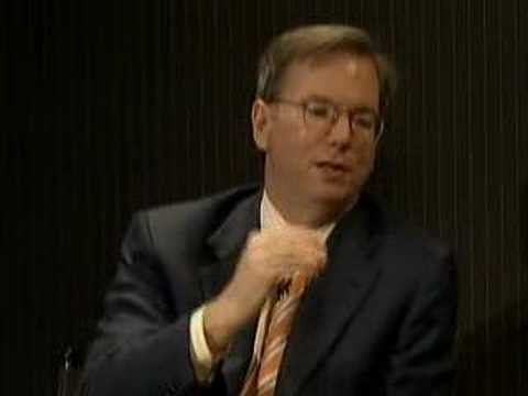 Eric Schmidt on the Future of Advertising