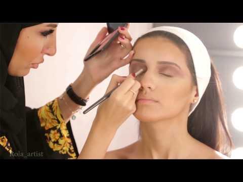 bride makeup 2015 Rola Alghoul مكياج العروس 2015 رولا الغول