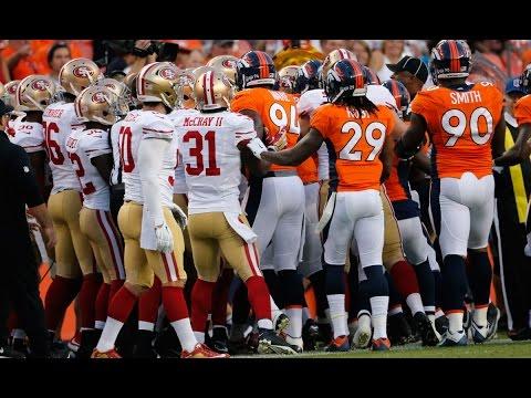 Broncos-49ers skirmish - 2015 NFL Preseason Week 3