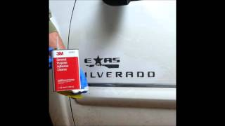 How to Remove Letters, Emblems and Trim off a Car or Truck