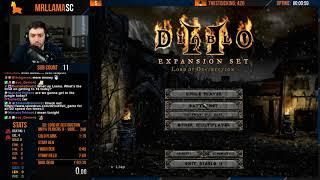 Diablo 2 - Players X Sorc Speedrun WR Chasing (07/16/2019)