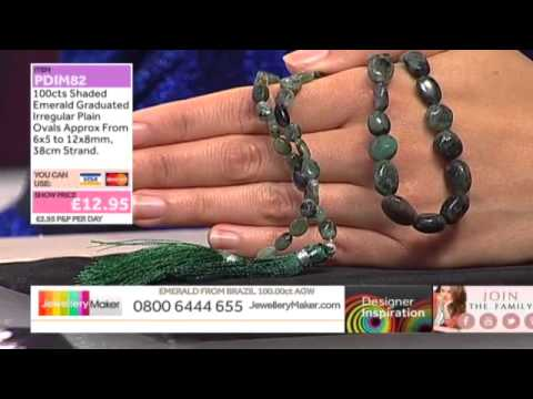 Lapis Lazuli on the JewelleryMaker Late Show 18/5/15