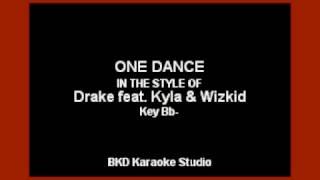 One Dance (In the Style of Drake ft. Wizkid & Kyla) (Karaoke with Lyrics)