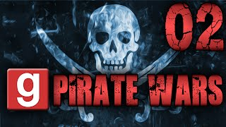 They're Launching Masts at us!! - (Garry's Mod - PirateWars - #02)