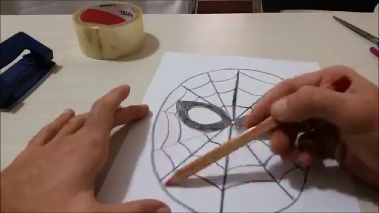 Maske Yapımı örümcek Adam Youtube