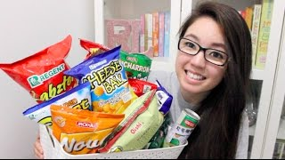 🇵🇭Trying Filipino Chips and Drinks! | rosellalee
