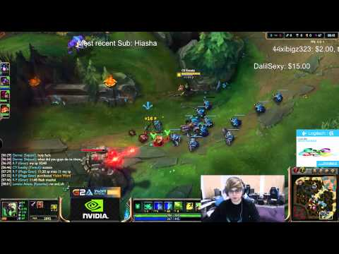 Sneaky duo LemonNation vs xPecake - Twitch vs Graves ADC - League of Legends Gameplay