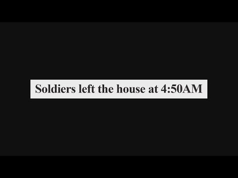 A Palestinian Home Moments After Soldiers Leave