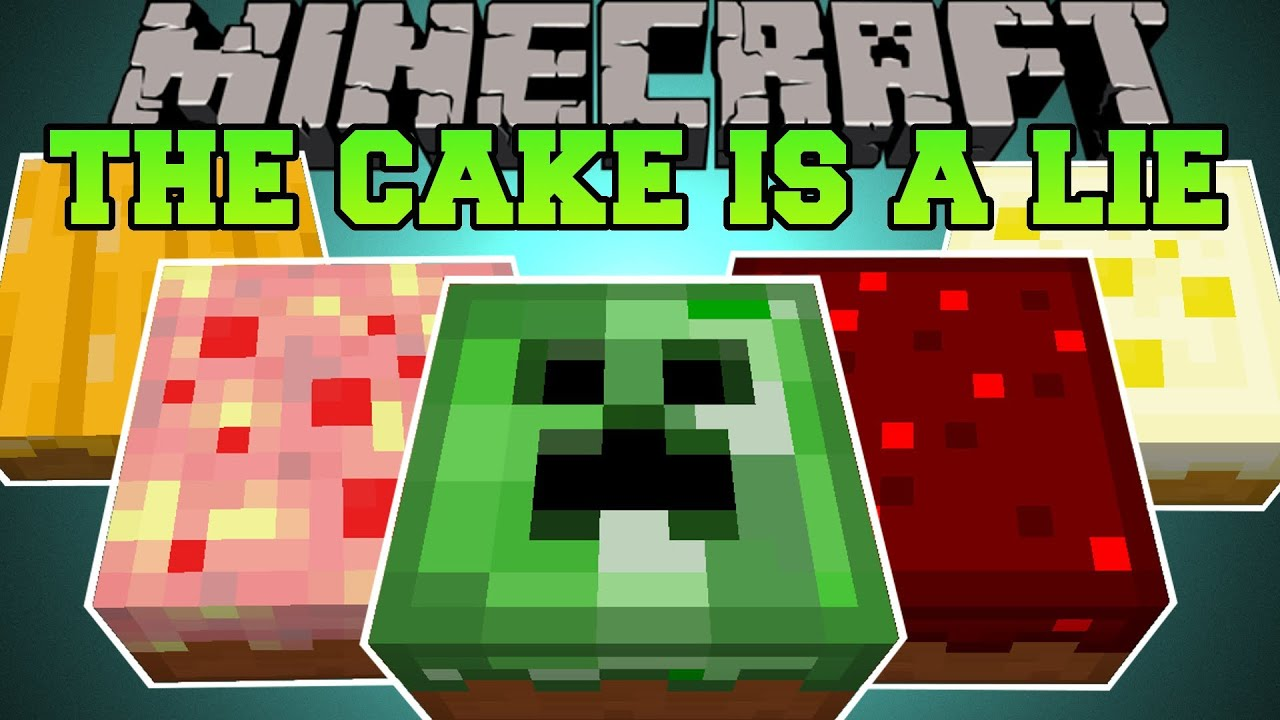 Minecraft THE CAKE IS A LIE DEADLY AND EPIC CAKES Cake is a Lie