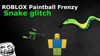 ROBLOX Xbox One | Paintball Frenzy Snake Glitch