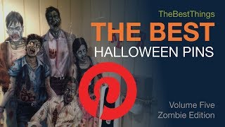 The Best Halloween Pinterest Pins Vol. 5 - Zombie Edition - January 2019